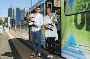 Defending champions Djokovic and Azarenka